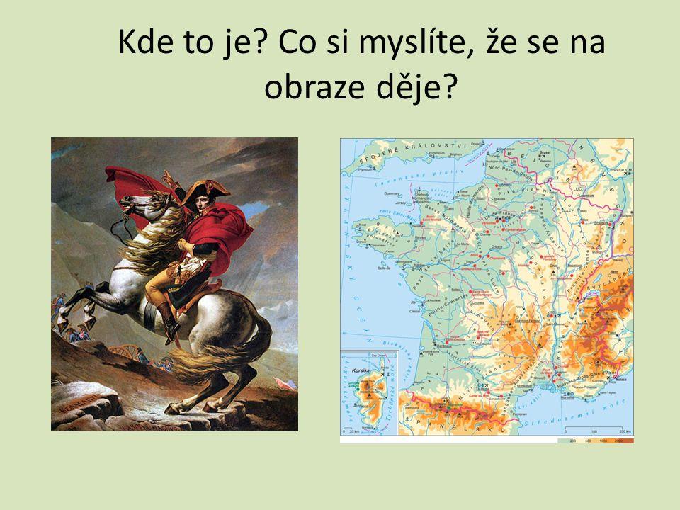 JACQUES – LOUIS DAVID: Bonaparte při přechodu Alp, 1800 – 1801 na jaře roku 1800 vytáhl I.