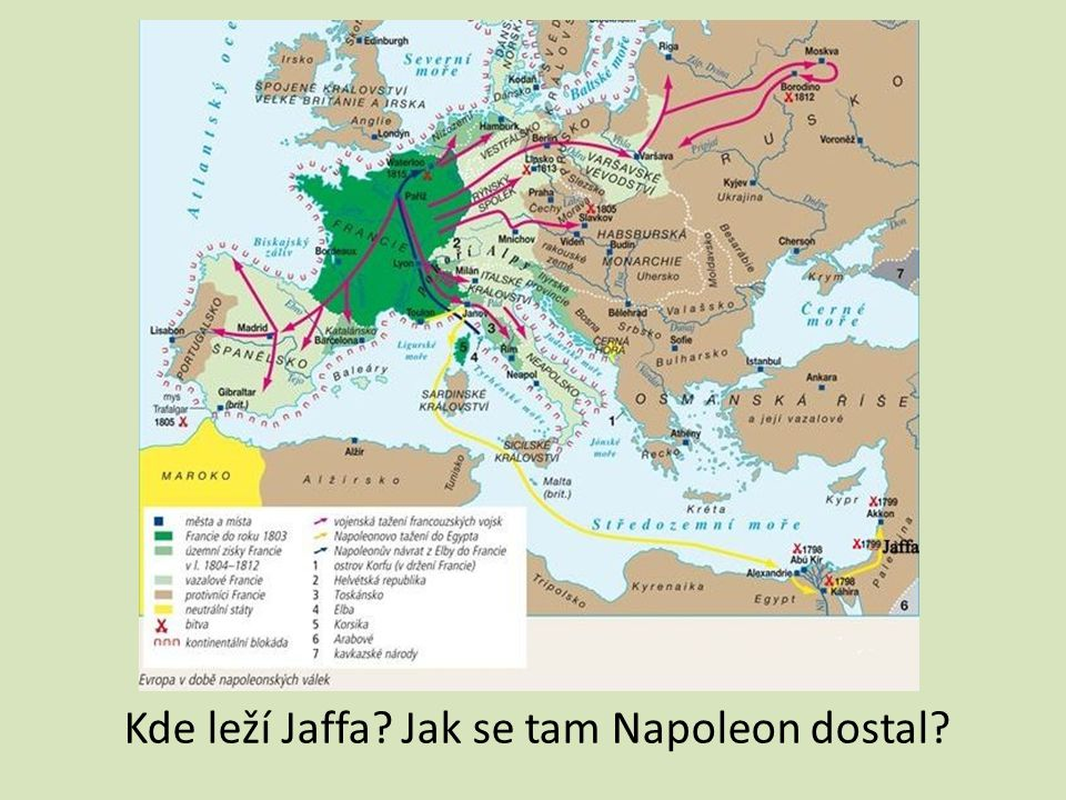 ANTOINE – JEAN GROS – Bonaparte v morovém domě v Jaffě – 1804 Jaffa – starobylé přístavní město – nachází se jižně od Tel Avivu v Izraeli, při Středozemním moři 7.