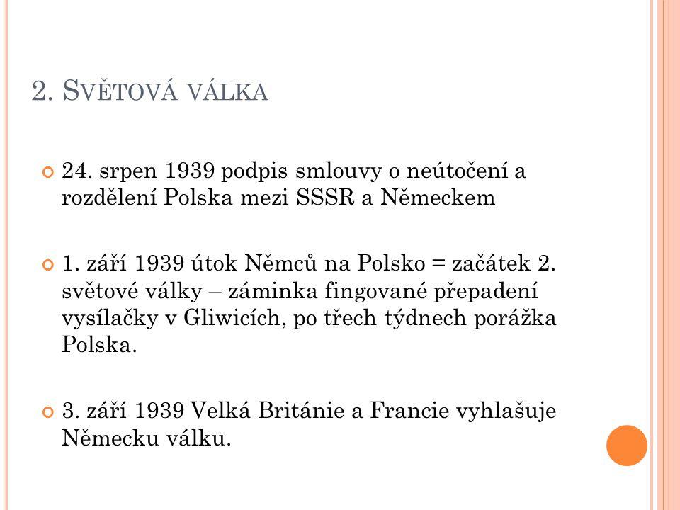 2.S VĚTOVÁ VÁLKA 24.
