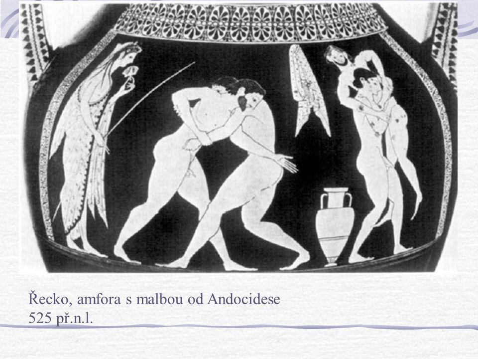 Archaická doba776-480 pnl. 573 pnl. Nemejské hry 566 pnl. Panatenajské hry 560 pnl. První zmínka o gymnáziu 550-450 pnl. zlaté století Řeckého sportu