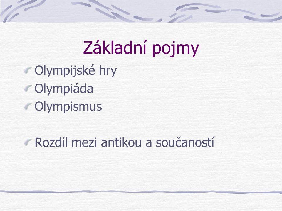 Novodobé olympijské hry 1894 – založení Mezinárodního olympijského výboru (P. de Coubertin) Evoluce MOV ZdrojeZdroje k olympismu Víc než 17.000 publik