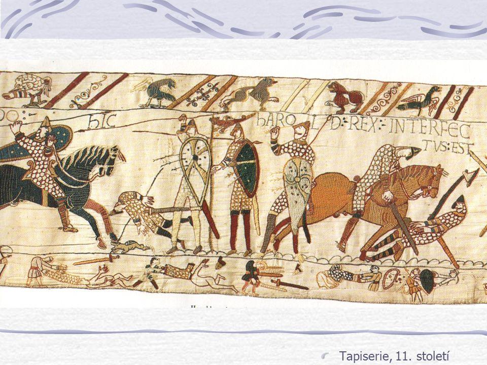 Rytířství - vznik Ve všech obdobích existovala skupina elitních válečníků Bohatých Bohatě placených (Bucellarius) Ve středověké Evropě od 11. století