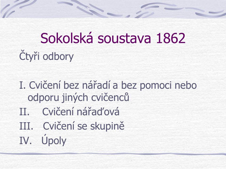 Tělovýchovné ústavy v Česku 1830 Hirschův ústav v Praze 1843 Steffanyho (později přejmenován na Stegmayerův) 1845 Segenův 1848 Schmidtův-Malypetrův 18
