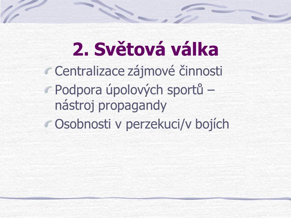 První Československá republika Rozvoj úpolů, stejně jako všeho v nové republice Zákon o branné výchově 1. 7. 1937: Podpora tělovýchovných aktivit Zvýš