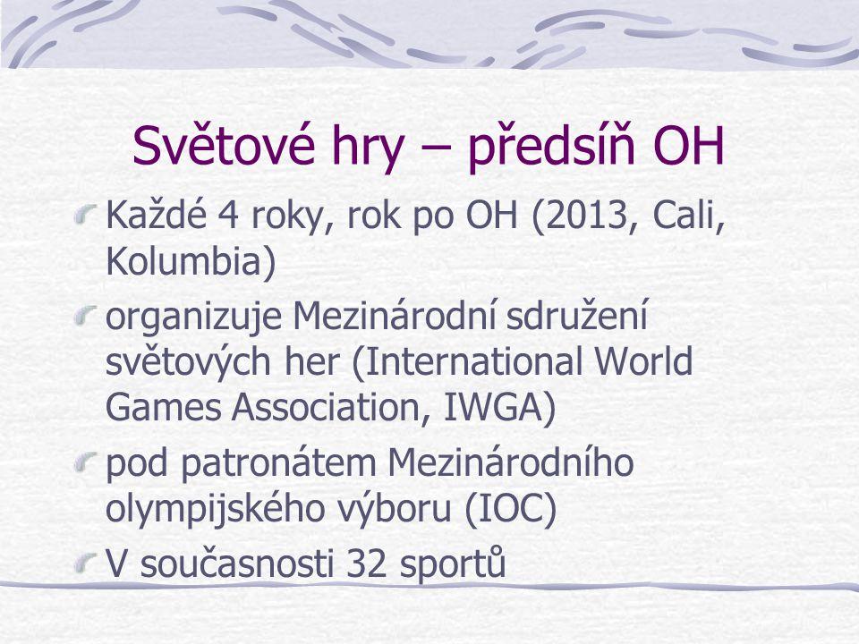 Procentuální podíl úpolových sportů na olympijských a světových hrách Celkem sportů Z toho úpolových % podíl (letní) Olympijské hry 28517,8 Světové hr
