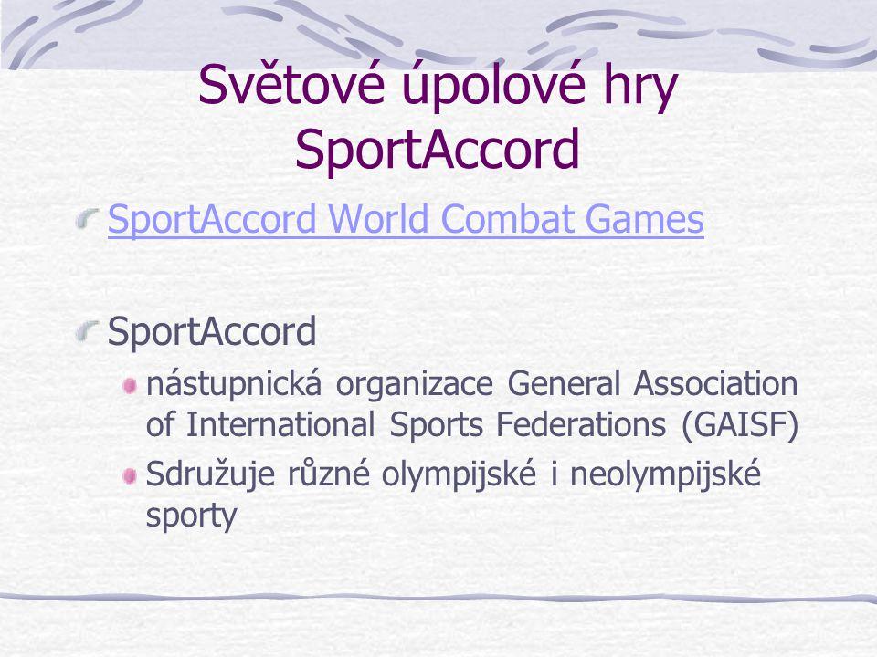 Paralympijské úpolové sporty Šerm vozíčkářů (1960) Džúdó pro zrakově postižené (1988)