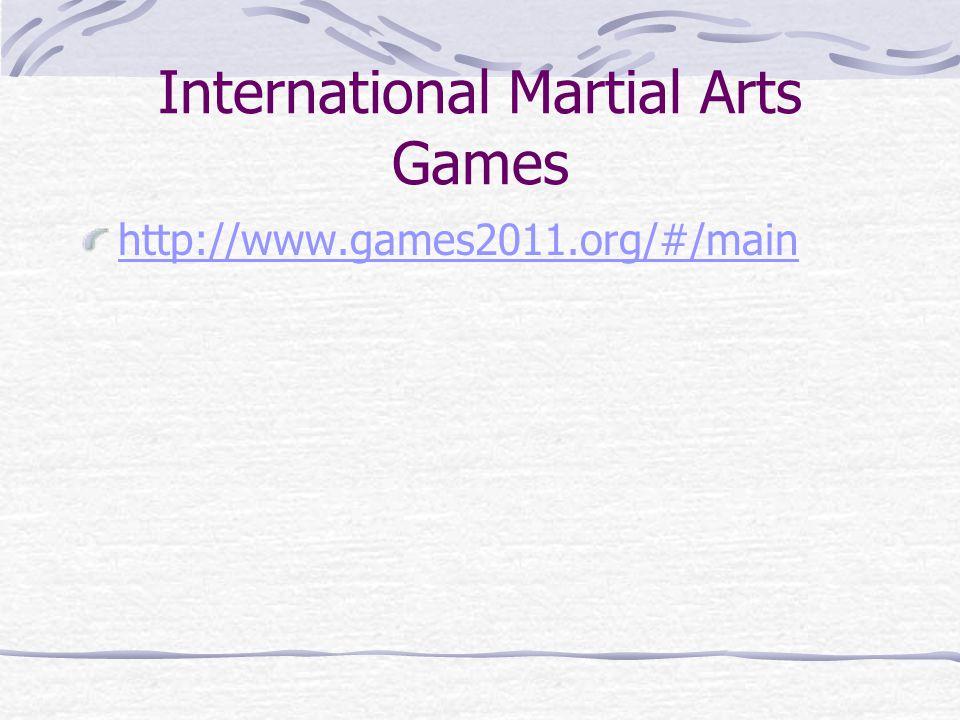 Světové úpolové hry Aikidó, reprezentováno Mezinárodní federací aikidó (International aikido federation, IAF) Box, reprezentován Mezinárodní asociací