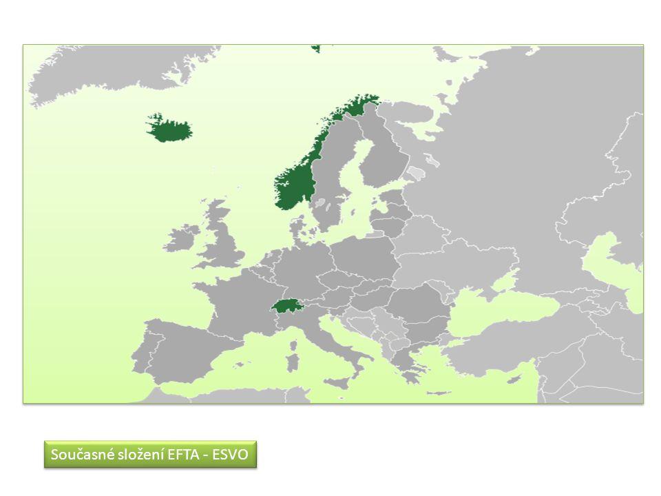 Současné složení EFTA - ESVO