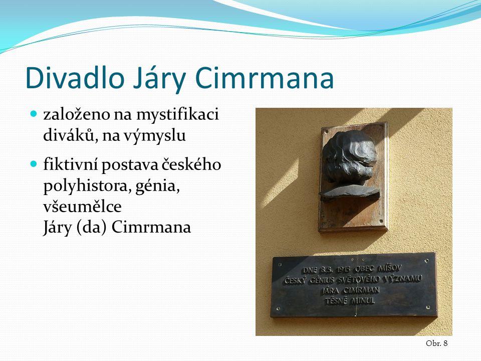 Divadlo Járy Cimrmana Obr.