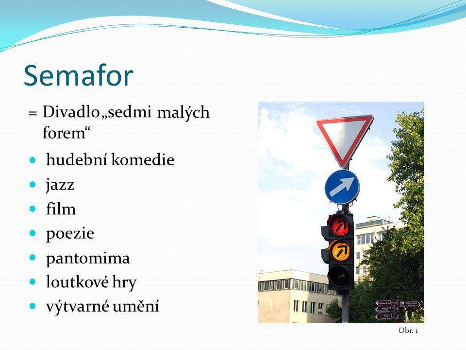 Divadlo Semafor Suchý Šlitr Obr.