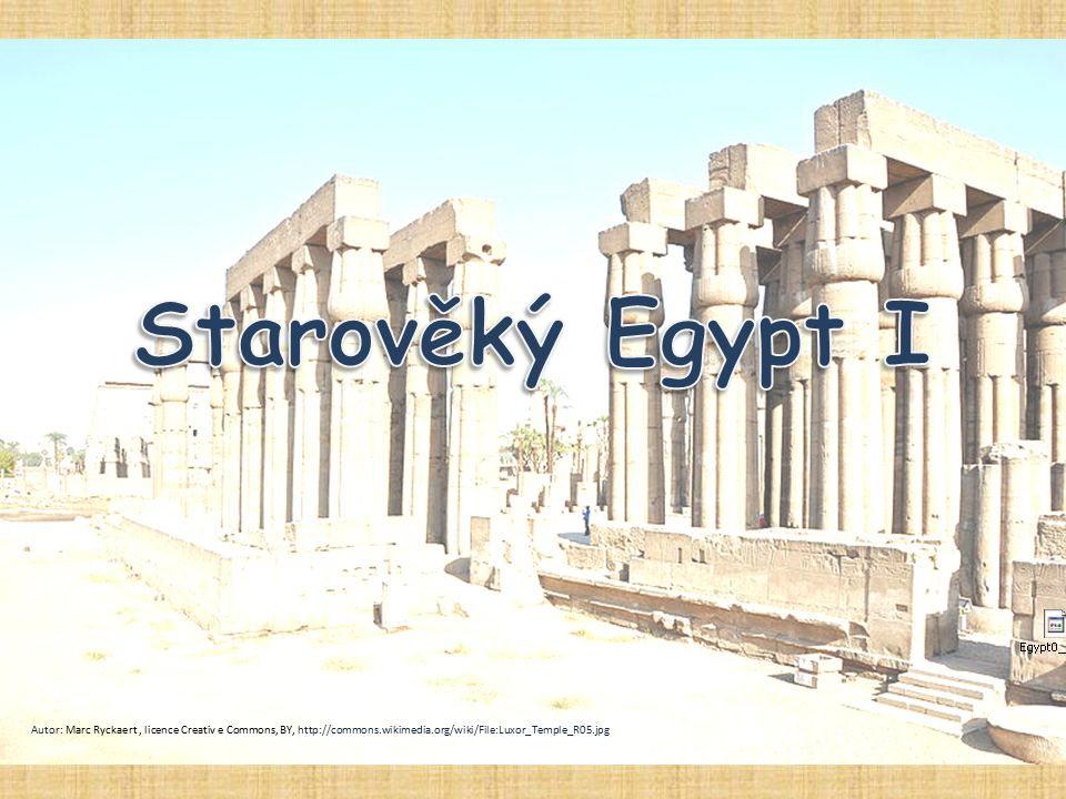Autor: Marc Ryckaert, licence Creativ e Commons, BY, http://commons.wikimedia.org/wiki/File:Luxor_Temple_R05.jpg