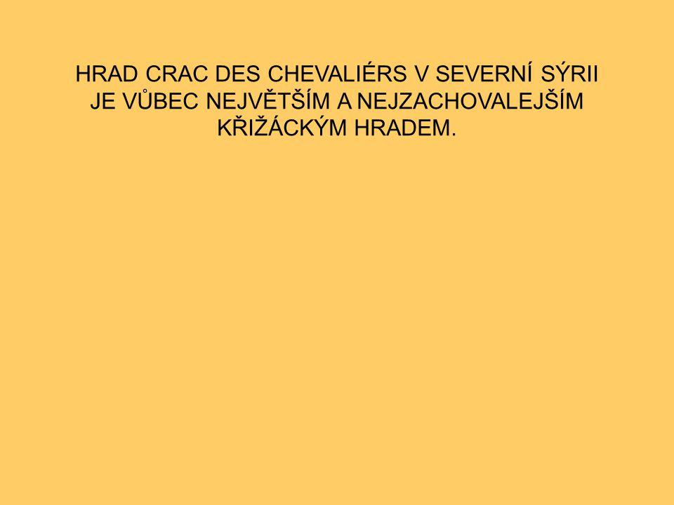 SÝRIE CRAC DES CHEVALIÉRS