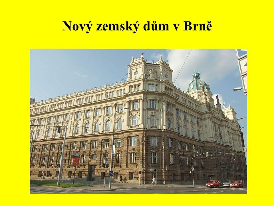 Nový zemský dům v Brně