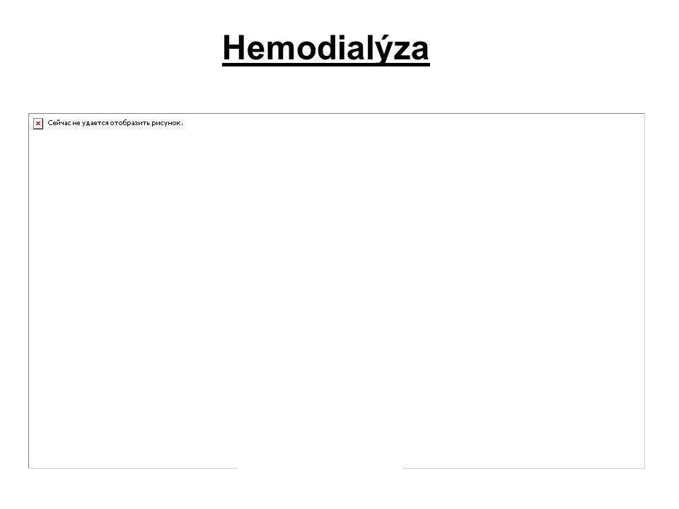 22 Urychlení eliminace TL Hemodialýza krev je mimotělním oběhem přiváděna k membráně, přes kterou může tox. látka přejít do fysiologického roztoku při