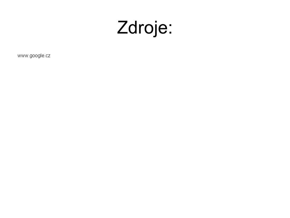 Zdroje: www.google.cz