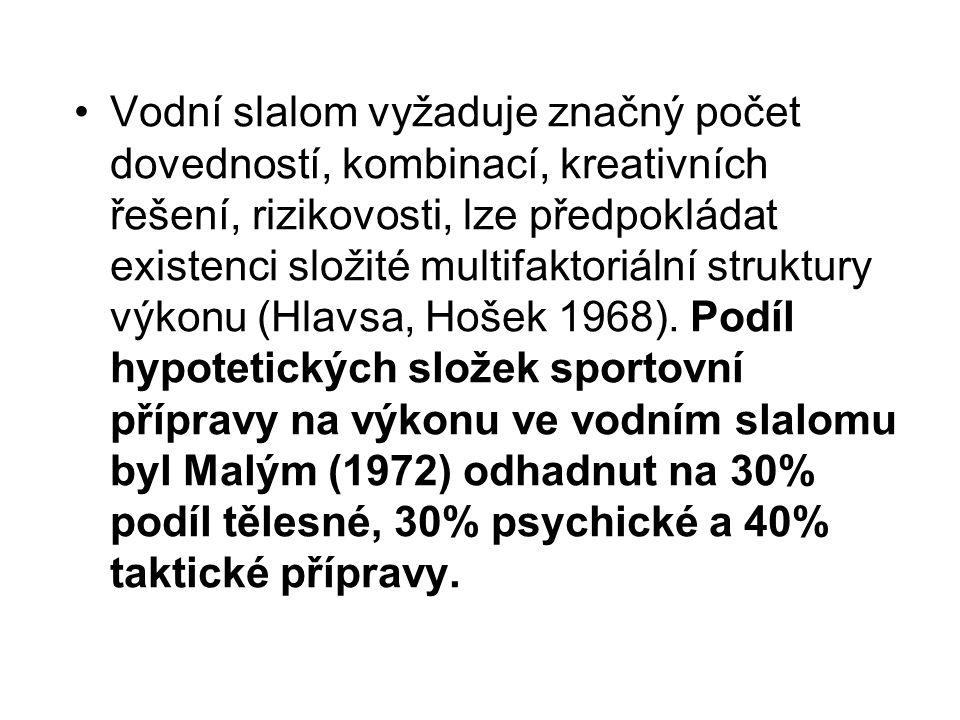 V roce 1998 jsme provedli) průzkum mezi trenéry nejlepších českých, resp.