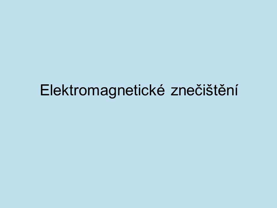 je neionizující elektromagnetické záření, které se přirozeně v přírodě nevyskytuje.