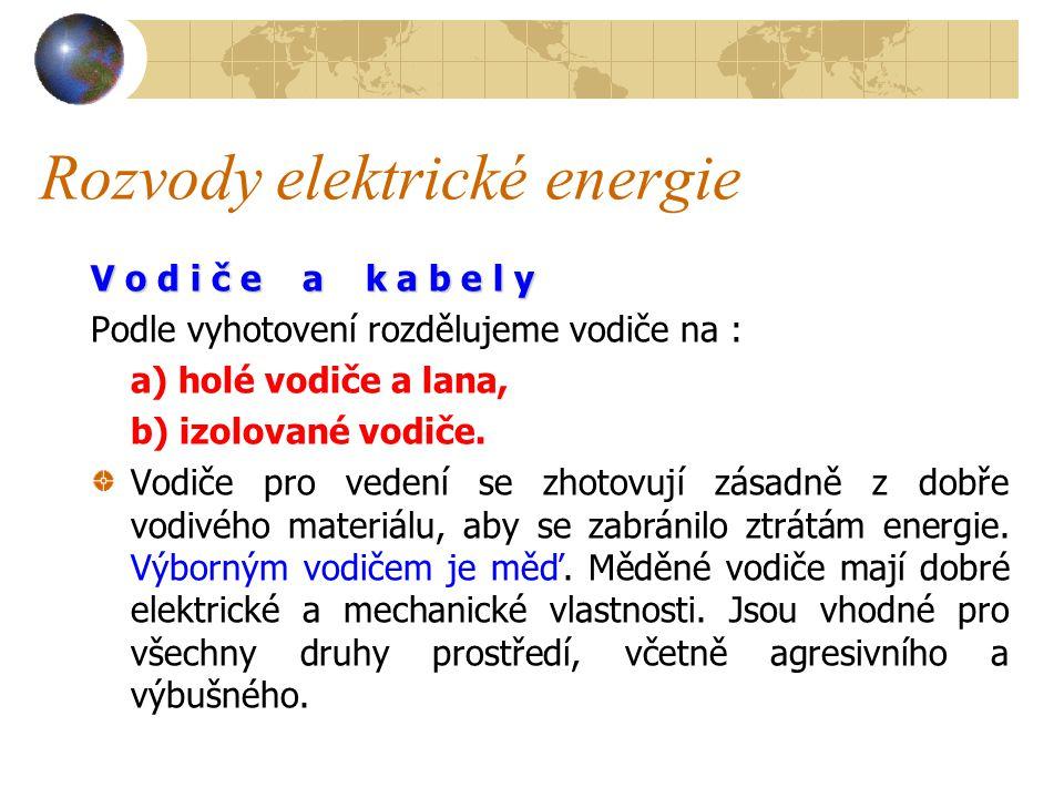 Rozvody elektrické energie Při dlouhotrvajícím přetížení se bimetalická vložka zvětšeným proudem zahřeje, prohne a vysune jádro cívky.