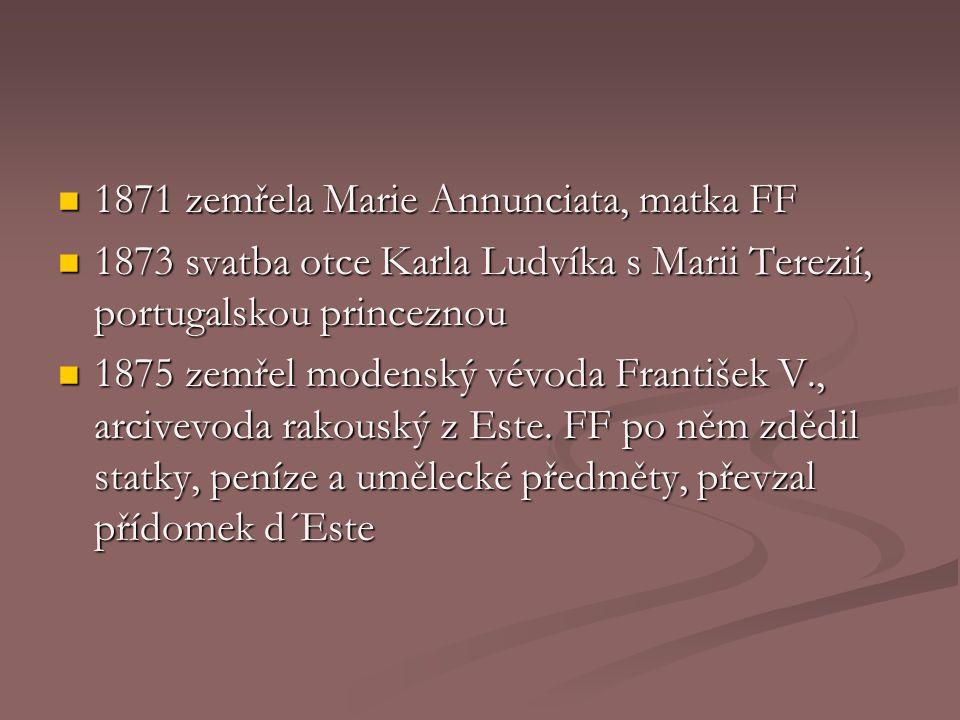 Marie Terezie Princezna z Braganzy (1855 - 1944)