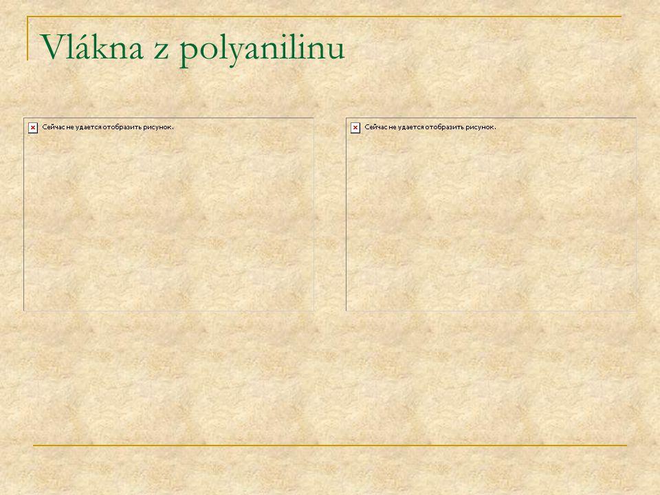 Vlákna z polyanilinu