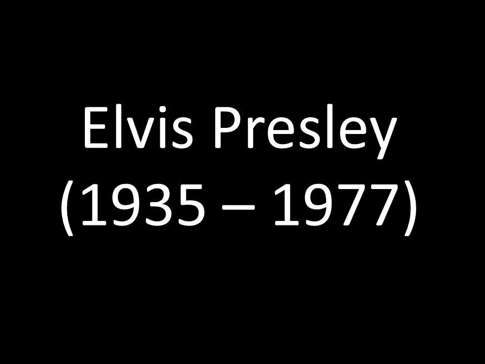 """Elvis Aaron Presley """"Král Rock n Rollu """"Král (The King)"""