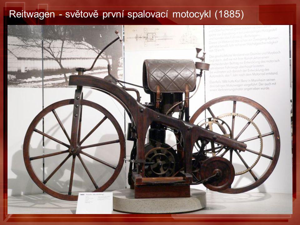 Reitwagen - světově první spalovací motocykl (1885)