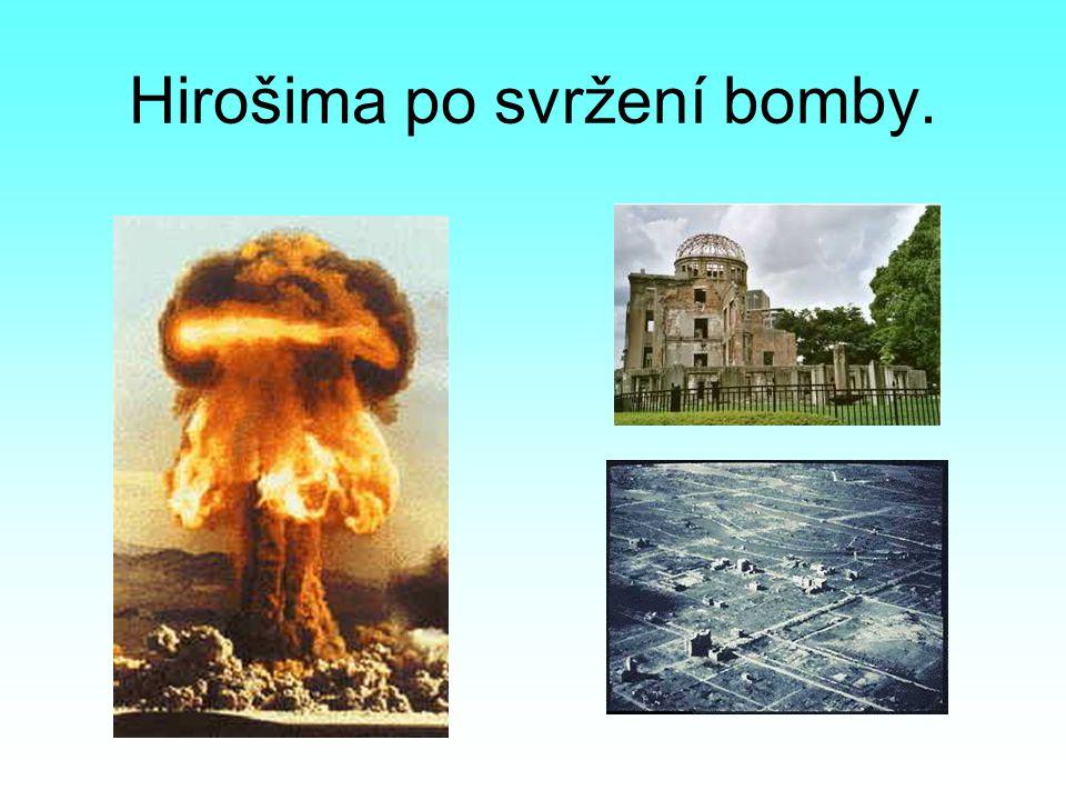 Hirošima po svržení bomby.