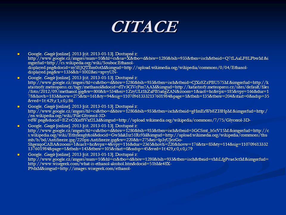 CITACE Google. Google [online]. 2013 [cit. 2013-01-13]. Dostupné z: http://www.google.cz/imgres?num=10&hl=cs&sa=X&tbo=d&biw=1280&bih=933&tbm=isch&tbni
