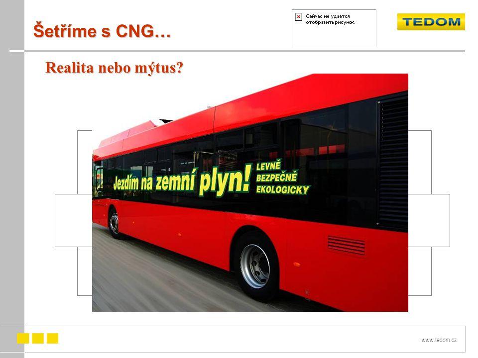 www.tedom.cz Šetříme s CNG… Realita nebo mýtus?