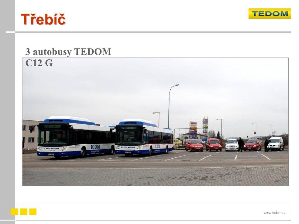 www.tedom.cz Třebíč 3 autobusy TEDOM C12 G