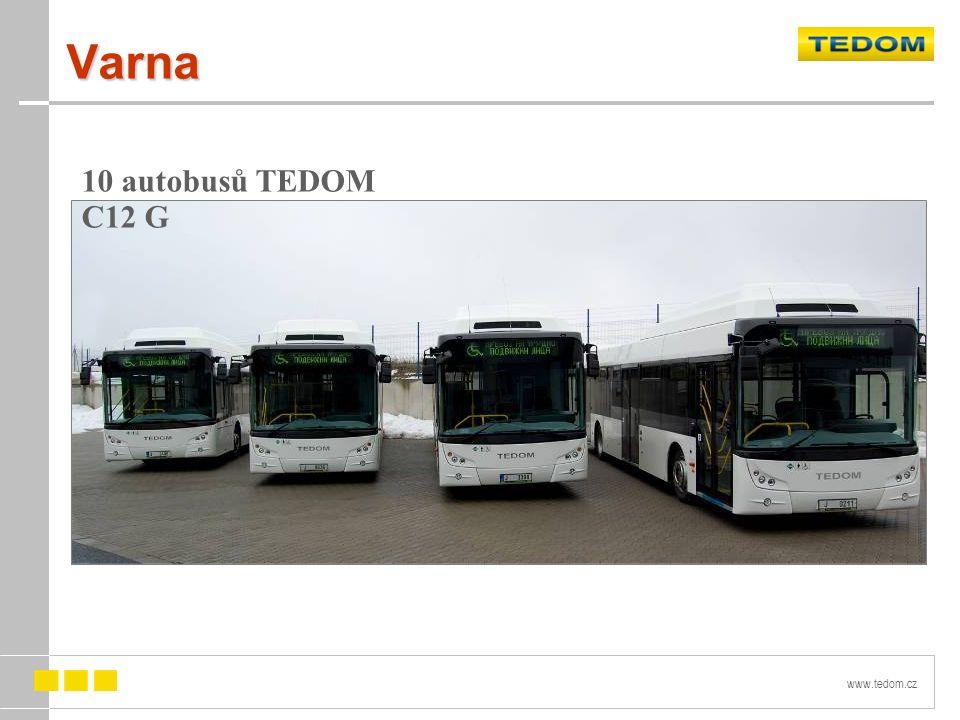 www.tedom.cz Varna 10 autobusů TEDOM C12 G