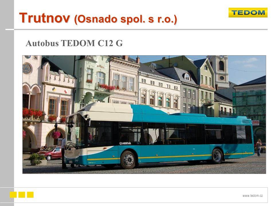 www.tedom.cz Trutnov (Osnado spol. s r.o.) Autobus TEDOM C12 G