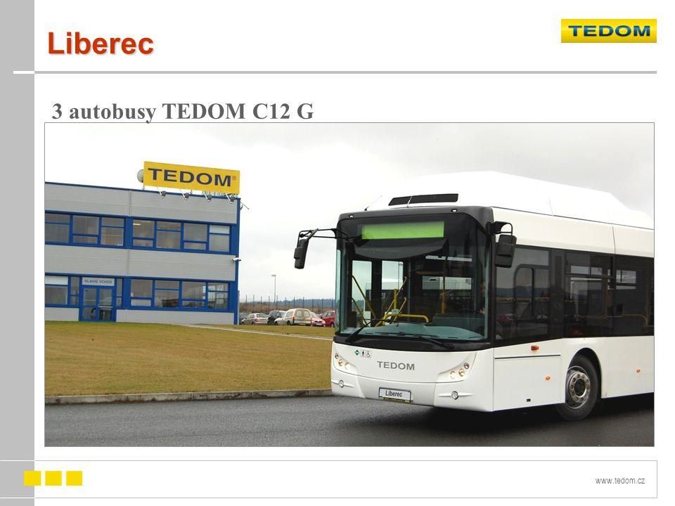 www.tedom.cz Liberec 3 autobusy TEDOM C12 G