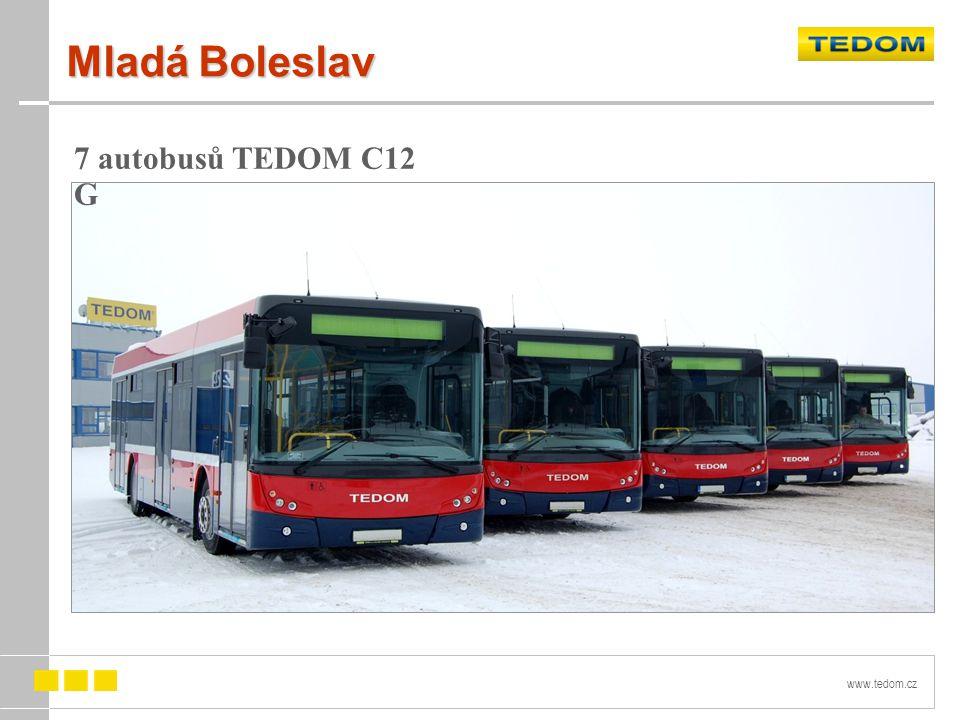 www.tedom.cz Mladá Boleslav 7 autobusů TEDOM C12 G