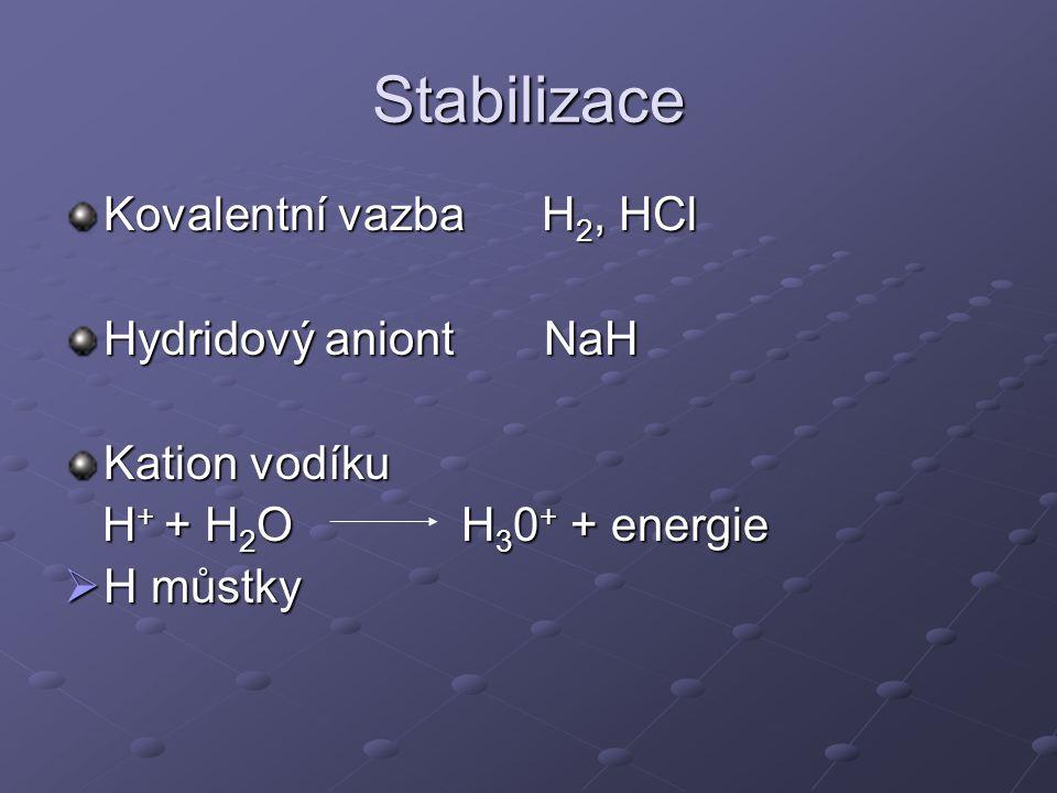 Vodík je nejrozší ř en ě jší prvek v celém vesmíru a t ř etí nejrozší ř en ě jší prvek na Zemi.