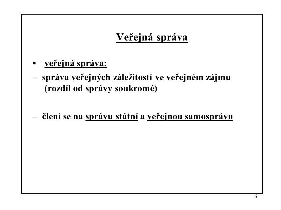 17 2.1 Právní úprava péče o životní prostředí v ČR (16 oblastí –viz.