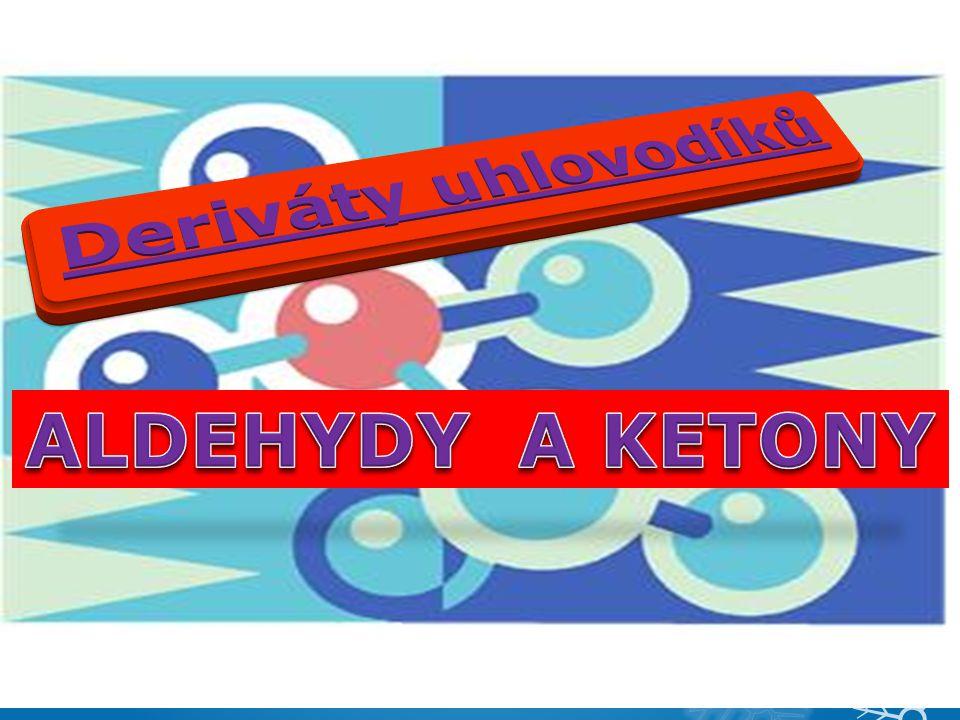 VY_32_INOVACE_13 - ALDEHYDY A KETONY