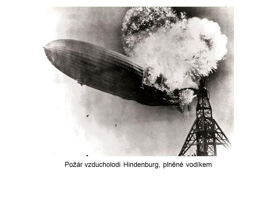 Požár vzducholodi Hindenburg, plněné vodíkem