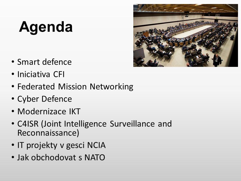 Smart defence Nový způsob uvažování pro zajištění moderních obranných schopností NATO pro následující dekádu a dále.