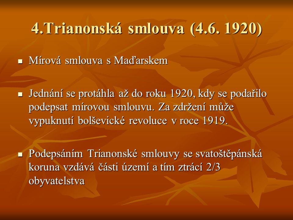 4.Trianonská smlouva (4.6.