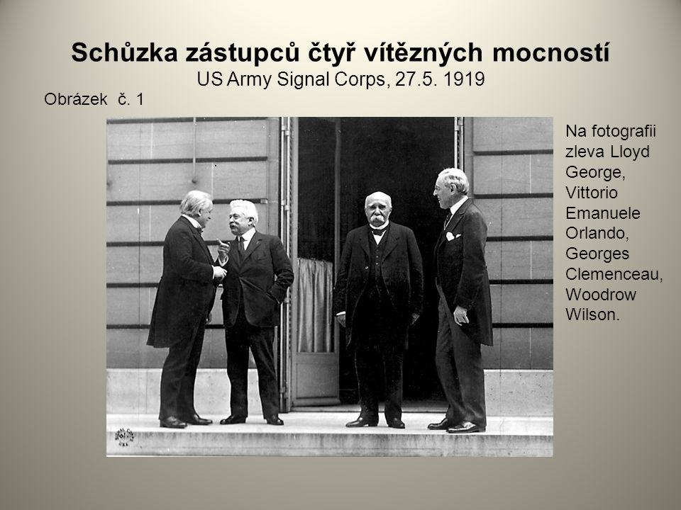 Schůzka zástupců čtyř vítězných mocností US Army Signal Corps, 27.5.
