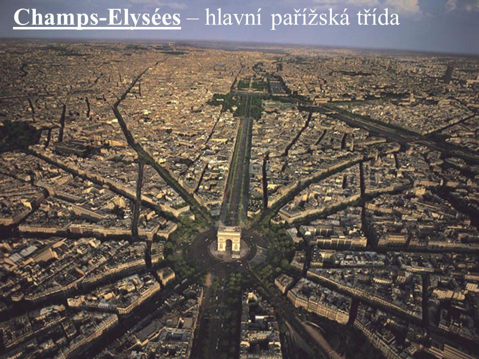Champs-Elysées – hlavní pařížská třída