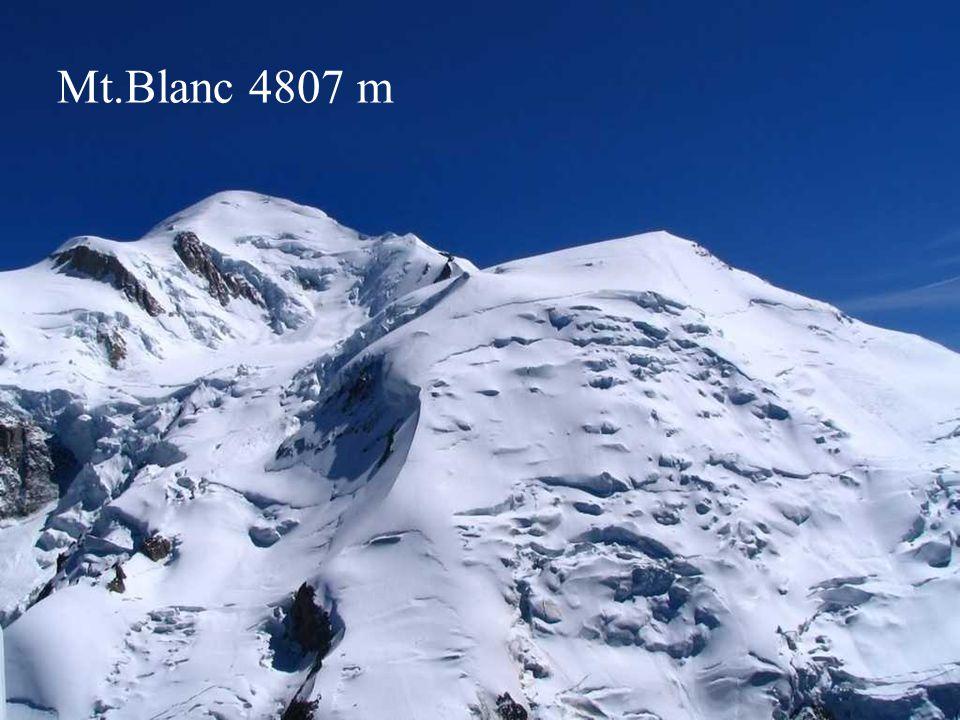 Mt.Blanc 4807 m