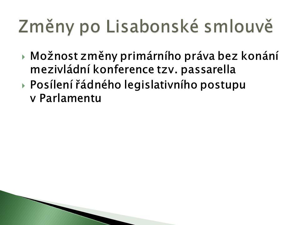  Posílení řádného legislativního postupu v Parlamentu