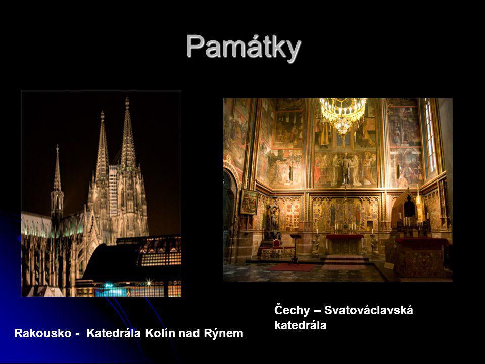 Památky Rakousko - Katedrála Kolín nad Rýnem Čechy – Svatováclavská katedrála