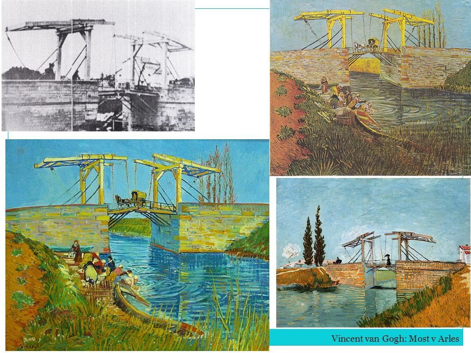 Vincent van Gogh: Most v Arles