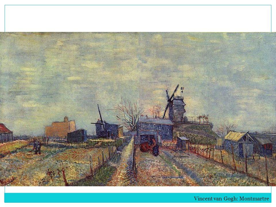 Vincent van Gogh: Montmartre