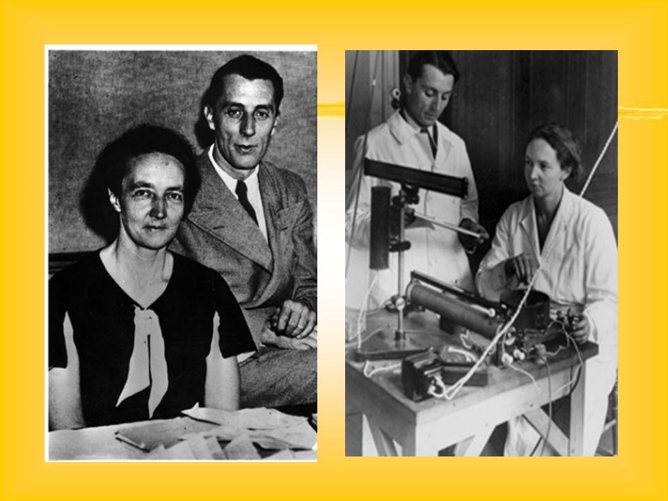 NOBELOVA CENA..1935 objev umělé radioaktivity