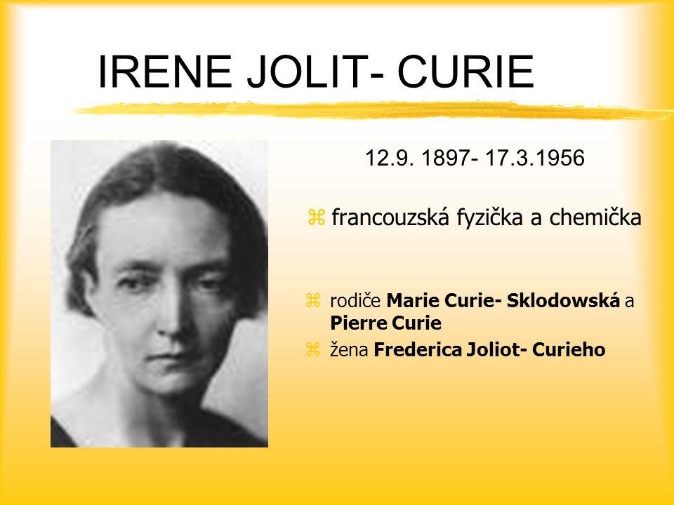 IRENE JOLIT- CURIE 12.9.