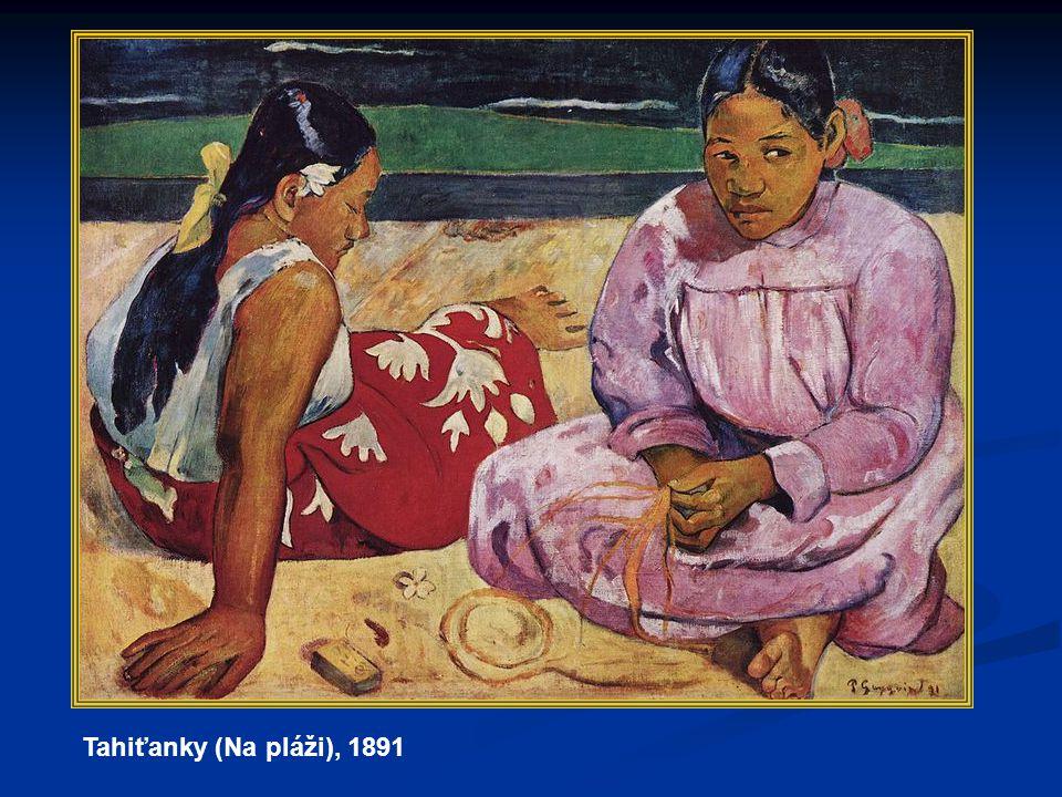 Tahiťanky (Na pláži), 1891